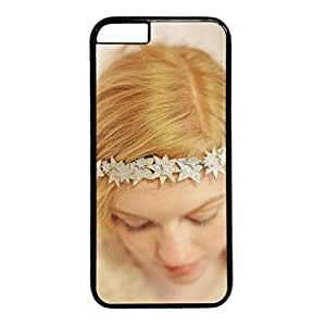 iCustomonline Because You're a Star Fashion Hard Back PC Black Case Cover for iPhone 6 (4.7 inch)