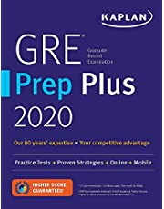 GRE Prep Plus 2020: 6 Practice Tests + Proven Strategies + Online + Video + Mobile
