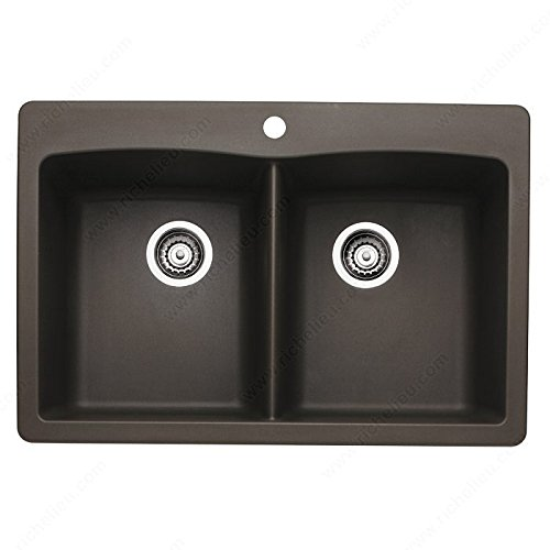 Blanco Sink - Diamond 2, Dual mount, Finish Café by handyct