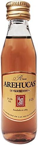Botellita Miniatura Ron Arehucas: Amazon.es: Alimentación y ...