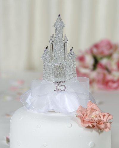 Rhinestone-Quinceanera-Cinderella-Castle-Cake-Toppers