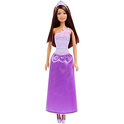 Mattel Barbie Princess Dolls (Assorted-Colors May Vary), Multicolor: Toys & Games