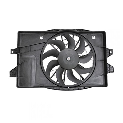Radiator Cooling Fan & Motor Assembly for Grand Voyager Caravan Town & Country