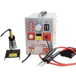 1500W 709A 2in1 Pulse Spot Welder Welding Machine Battery Charger pen&iron 220v