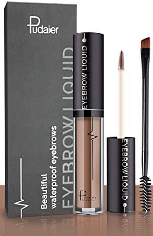 Effie Lancelot Waterproof Liquid Eyebrow Gels-24Hours Long Lasting Smudge-Proof Tinted Makeup Color Brow Gel-Brown