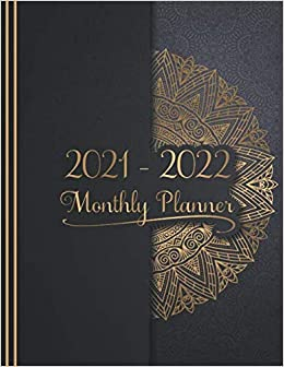 Calendar Books 2022.2021 2022 Monthly Planner 2 Year Calendar January 2021 December 2022 24 Monthly With Holidays Personal Schedule And Organizer Golden Black Mandala Cover 2021 2022 Two Year Planner Memphis Luciana 9798645286743 Amazon Com Books