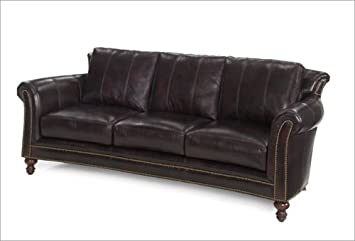 Amazon Com Bradington Young 866 Cl Richardson Leather Sofa Baby