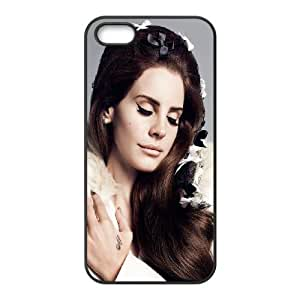 Lana Del Ray iPhone 5 5s Cell Phone Case Black WK5280169