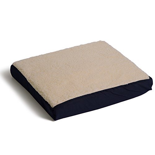 (Hermell Products WC4491SHP Gel Cushion with navy/Imitation)