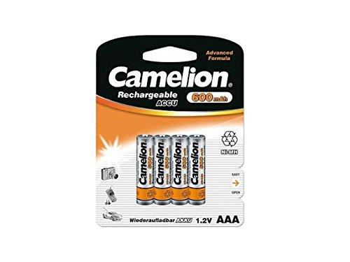 12 x Akku Batterie 3 x 4er Blister Camelion AAA 600mAh für Festnetz Telefon Siemens Gigaset SX550i , S67H , SX810 ISDN , A220 , AS285 , A510 Duo , S810 ,455X , CX610 ISDN , S79H C300 , A285 , S810H , A420 , C100 , SX440 ISDN , SX810 A , E500A , SX445 ISDN , C150 , A600 , 450X , C385 Duo , C610H , C595 , C610 , C300A Duo , C59H , A400 , C590 , Panasonic KX-PRW110 , KX-TG8561 , KX-TG6522 , KX-PRS110 , KX-TG6721 , Telekom T-Sinus 502 Dect , A205 , 501i , 300i , 103 , A404 , CA34 , A503i
