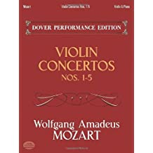 Violin Concertos Nos. 1-5: with Separate Violin Part