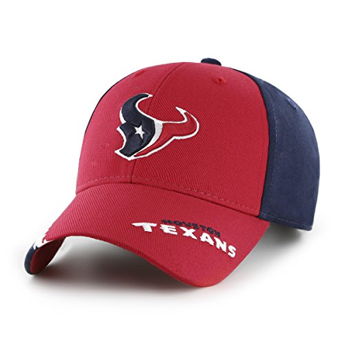 NFL Houston Texans Children Rivet Ots All-Star MVP Adjustable Hat, Kids, Navy ()