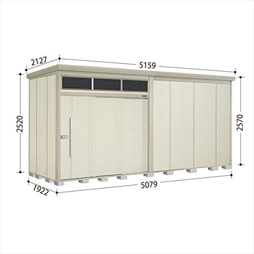 タクボ物置 JNA/トールマン ブライト JNA-S5019W 多雪型 標準屋根 『屋外用大型物置』 ムーンホワイト B01LZD38KL