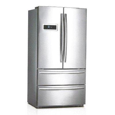 midea-hc767we-208-cuft-4-door-led-refrigerator-stainless-steel