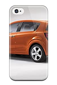 High Quality Chevy Sonic Rust Rear And Side Case For Iphone 4/4s / Perfect Case
