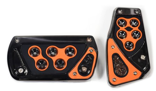 Pedal Kit Triglobe Orange 2 pc