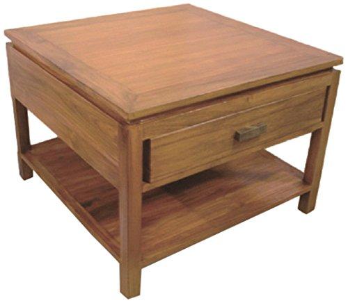 NES Furniture Nes Fine Handcrafted Furniture Solid Teak Wood Lana End Table - 24