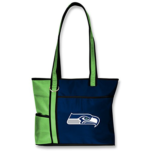 NFL Seattle Seahawks Tote Bag with Embroidered Logo
