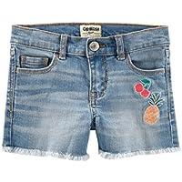 Shorts Jeans Menina Oshkosh Azul Tamanho 4