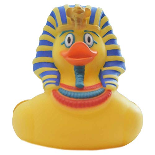 King Tut's Tomb Halloween (Wild Republic Rubber Ducks, Bath Toys, Kids Gifts, Pool Toys, Water Toys, King TUT,)