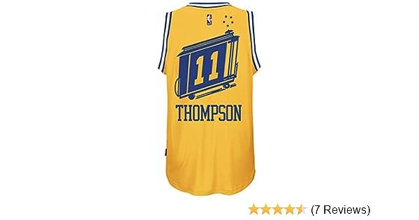 627d44a2c Amazon.com   adidas Klay Thompson Golden State Warriors Hardwood Classics  Swingman Jersey   Sports   Outdoors