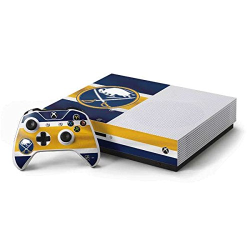Buffalo Sabres Xbox One S Console and Controller Bundle Skin - Buffalo Sabres Jersey | NHL & Skinit Skin