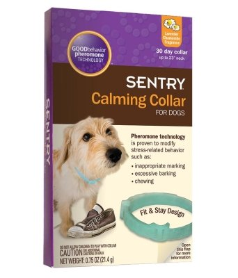 "GOOD BEHAVIOR PHERMONE COLLAR 28in ""Ctg: DOG PRODUCTS - DOG HEALTH - BEHAVIOR AIDS"""