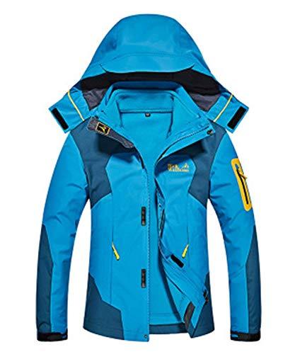 Imperméable Dame 1 Pluie Femmes Vestes Plein See En Veste Hiver Shell Et Chaude De Blau Casual 3 Souple Air Ski Coat Fonctionnelles Respirante CvSXq55w