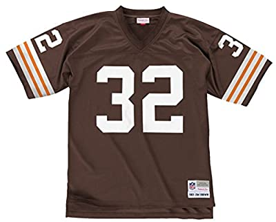 Jim Brown Cleveland Browns Mitchell and Ness Throwback Jersey