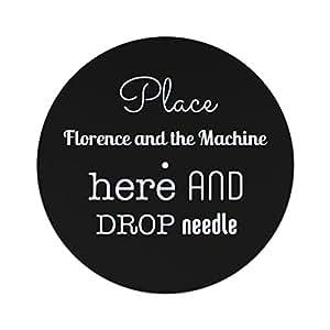 Coloque Florencia y la máquina aquí y suelte la aguja antideslizante