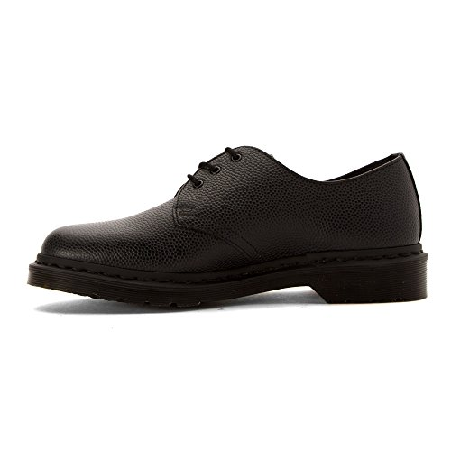 1461 Eyelet Dr 3 Womens Pebble Martens Black Leather Shoes BwxqxCfE