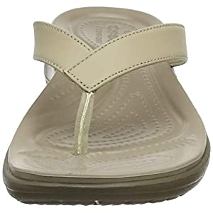 Crocs Women's Caprivflip Open Back Slippers