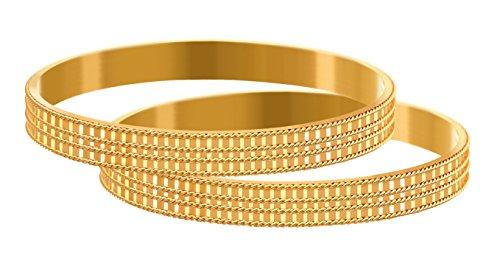 c786f5eb30cda JFL - Traditional Ethnic One Gram Gold Plated Designer Bangle for Women &  Girls