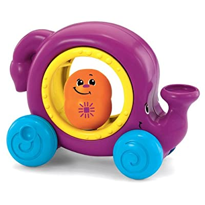 Fisher-Price Topzy Tumblers Whirl 'n Tumble Elephant: Toys & Games