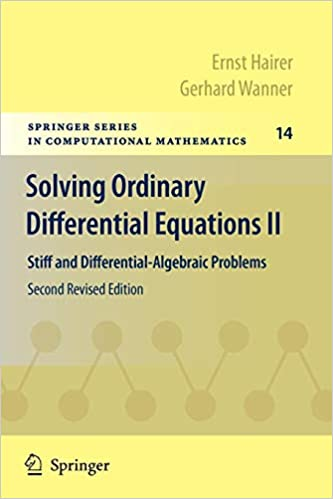 Solving Ordinary Differential Equations II: Stiff and Differential