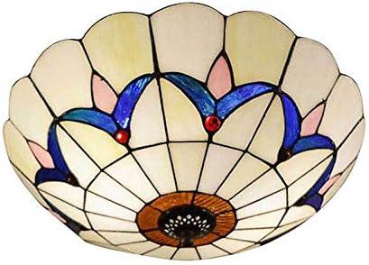 12″ Wide Flush Mount Ceiling Light LITFAD Mission Inverted Ceiling Lamp