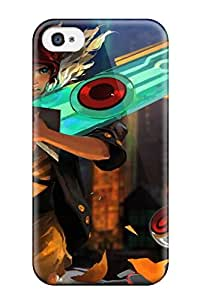 Cute Tpu Hxy Transistor Game Anime S Case Cover For Iphone 4/4s