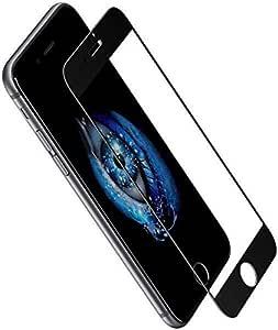 ابل ايفون 8 بلس وايفون 7 بلس مع لاصقة حماية للشاشة - اسود