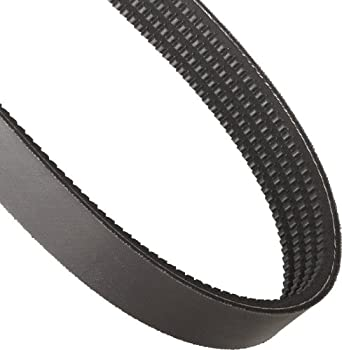 """Continental ContiTech HY-T Wedge Torque Team V-Belt, 4/3VX400, Banded & Cogged, 4 Rib, 1.5"""" Width, 0.31"""" Height, 40"""" Nominal Outside Length"""