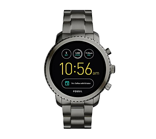 Fossil Men's Stainless Steel Gen 2 Q Marshal Smoke Smart Watch