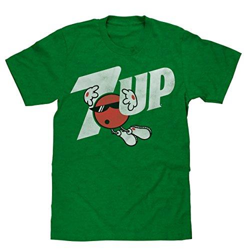 7 Up Retro Logo Licensed Mens T-Shirt