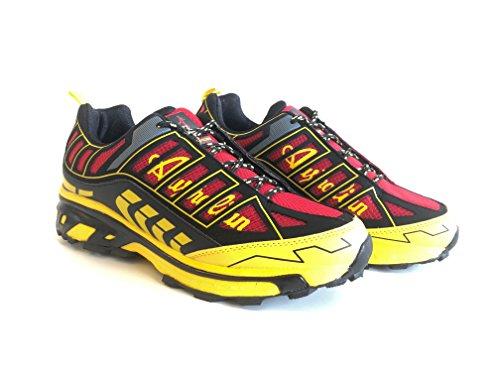 Australian Energy, Mann-Sneakers Red/Black
