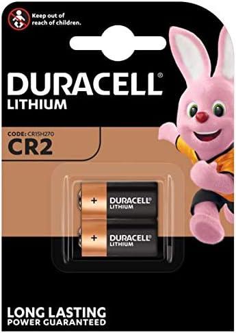 Duracell CR15H270 - Pilas especiales de litio CR2 High Power de 6V, paquete de 2 unidades diseñadas para su uso en sensores, cerraduras sin llave, flash de cámara y linternas
