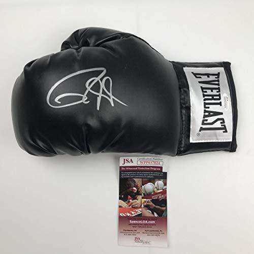 Autographed/Signed Roy Jones Jr. Black Everlast Boxing