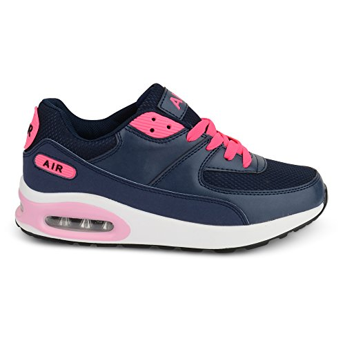 Shoes Click ,  Damen Kurzschaft Stiefel Navy