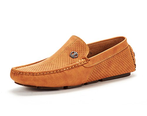 Men's 3251314 Tan Penny Loafers Moccasins Shoes Size 9.5 M US ()