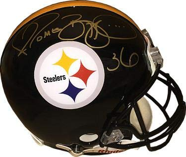 2f0af2073eb Autographed Jerome Bettis Helmet - Riddell Full Size Proline  36 JSA BAS  Guaranteed To Pass