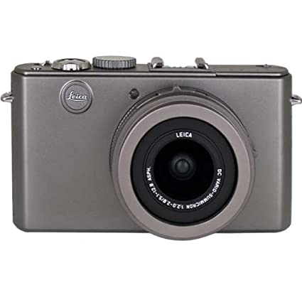 Leica d lux 4 digital camera special limited edition titanium
