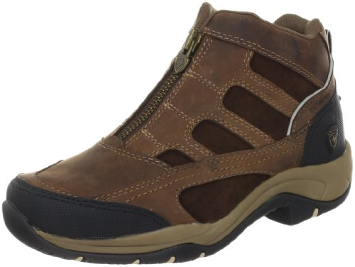 Ariat Women's Terrain Zip H2O Hiking Boot, Distressed Brown,9 B US by Ariat