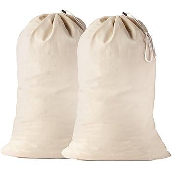 Amazon Com Cotton Laundry Bag 2 Pack 24 X 36